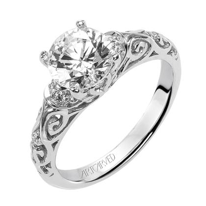 "Artcarved ""Peyton"" Ring"