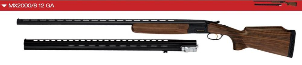 MX2000/8 Trap Top Single 12 ga Combo - Available for custom order