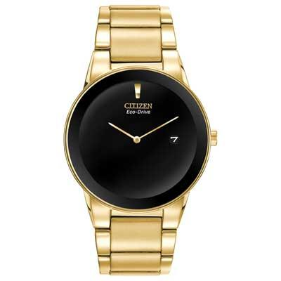 Citizen Mens AU1062-56E Axiom Gold-Tone Watch