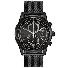Citizen Mens Watch Mesh Chronograph