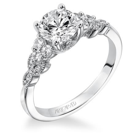 "Artcarved ""Adeline"" Ring"