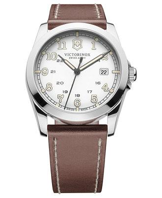 Victorinox Swiss Army Mens Infantry White Dial Watch