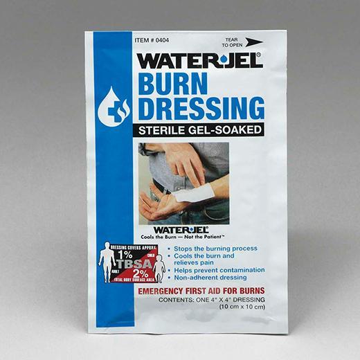 """Water-Jel Burn Dressing  4"""" x 4"""""""