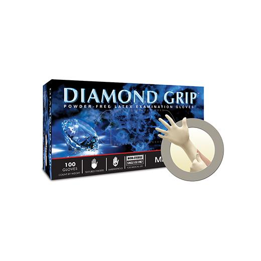 MICROFLEX Diamond Grip™ Powder-Free Latex Examination Gloves