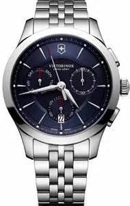Victorinox Alliance Blue Dial Mens Chronograph Watch