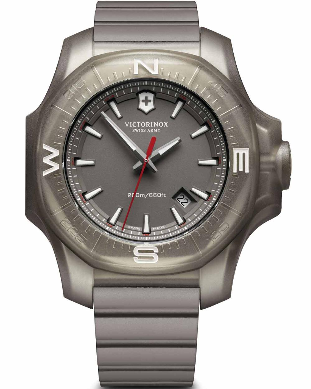 Victorinox Swiss Army I.N.O.X. Grey Dial Mens Watch