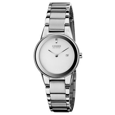Citizen Womens Eco-Drive Axiom Stainless Steel Watch