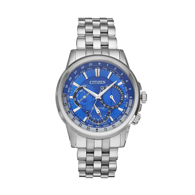 Citizen Eco-Drive Mens Calendrier Stainless Steel Watch