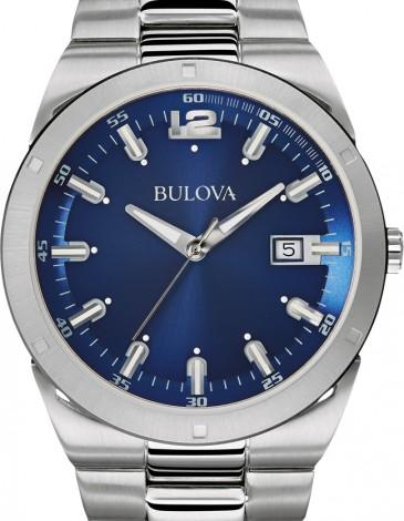 Bulova Mens Classic Analog Display Japanese Quartz White Watch