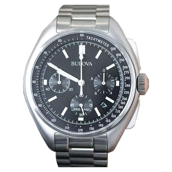 Bulova Mens Special Edition Moon Watch Stainless Steel