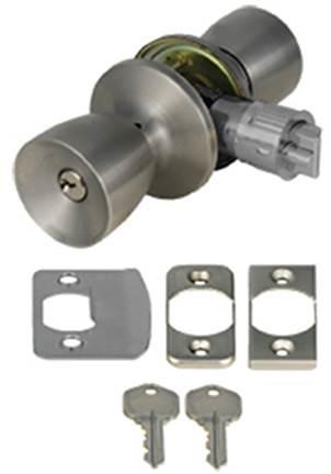 Stainless Entry Lockset