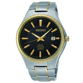 Seiko Mens Two-Tone Titanium Watch