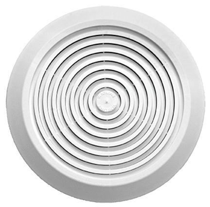 Replacement Cover for bath vent NO Light