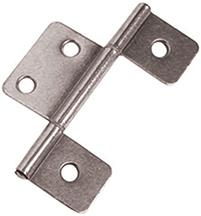 Non-Mortise Interior Door Hinge