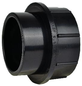 "Strainer Adapter 1 1/2  x 1"" Swivel"