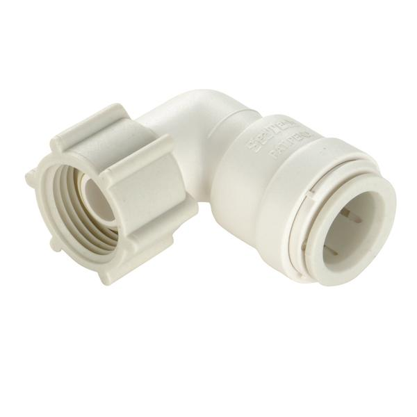 "Sea Tech 1/2"" Female Swivel Elbow"