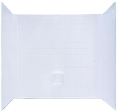 One Piece Tub Surround 27x54