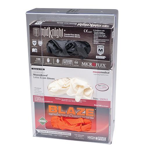 Glove Box Dispenser 3 unit
