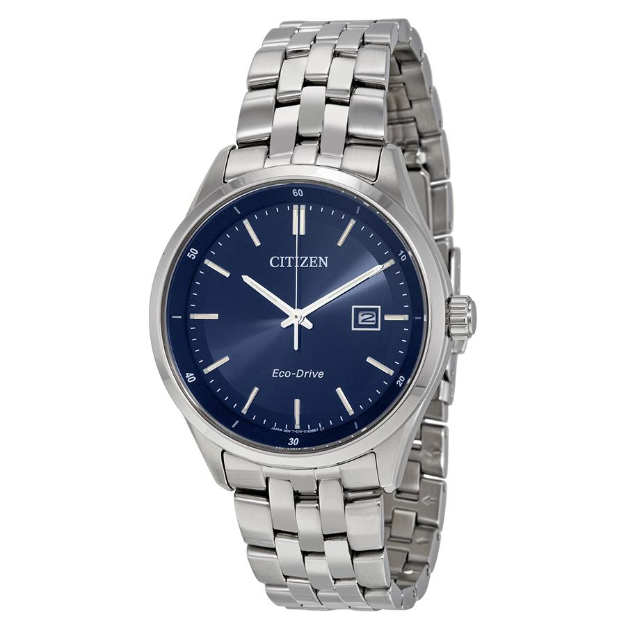 Citizen Eco-Drive Mens Stainless Steel Corso Watch
