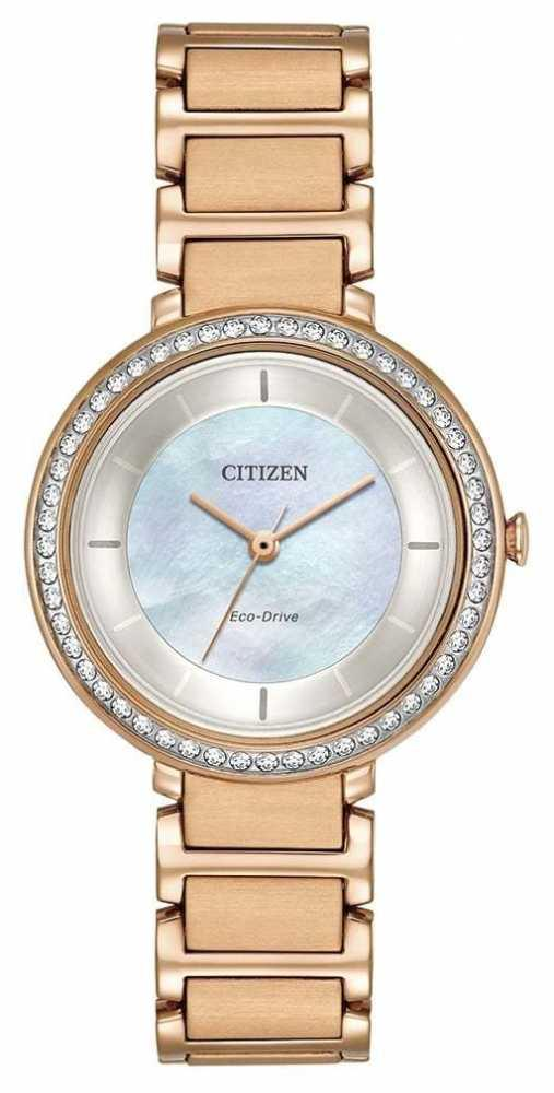 Citizen Womens Watch Silhouette Crystal Collection