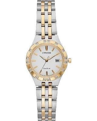 Citizen Womens Sport Analog Display Two Tone Watch