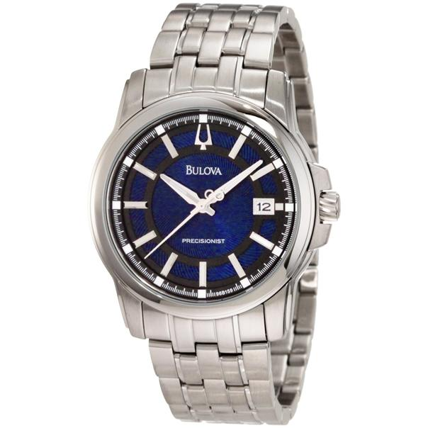 Bulova Mens  Precisionist Round Watch