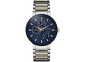 Bulova Mens Two-Tone Watch