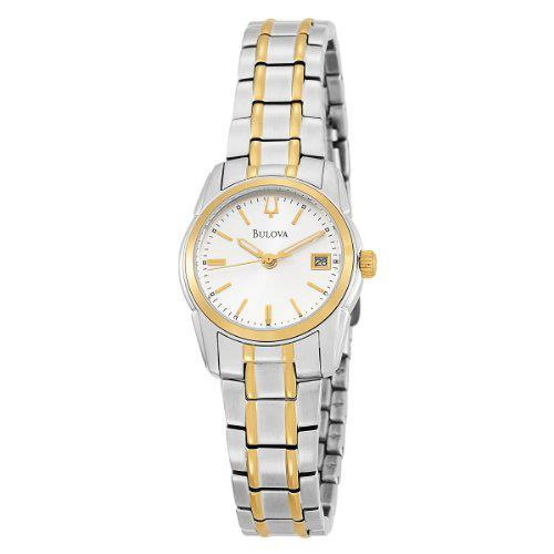 Bulova Womens Classic Two Tone Bracelet Watch