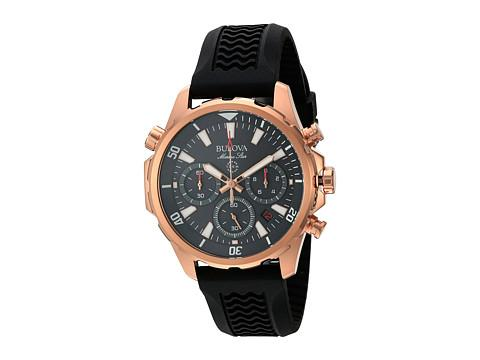 Bulova Mens Rose Goldtone Watch