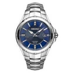 SEIKO MENS COUTURA DIAMOND SOLAR WATCH