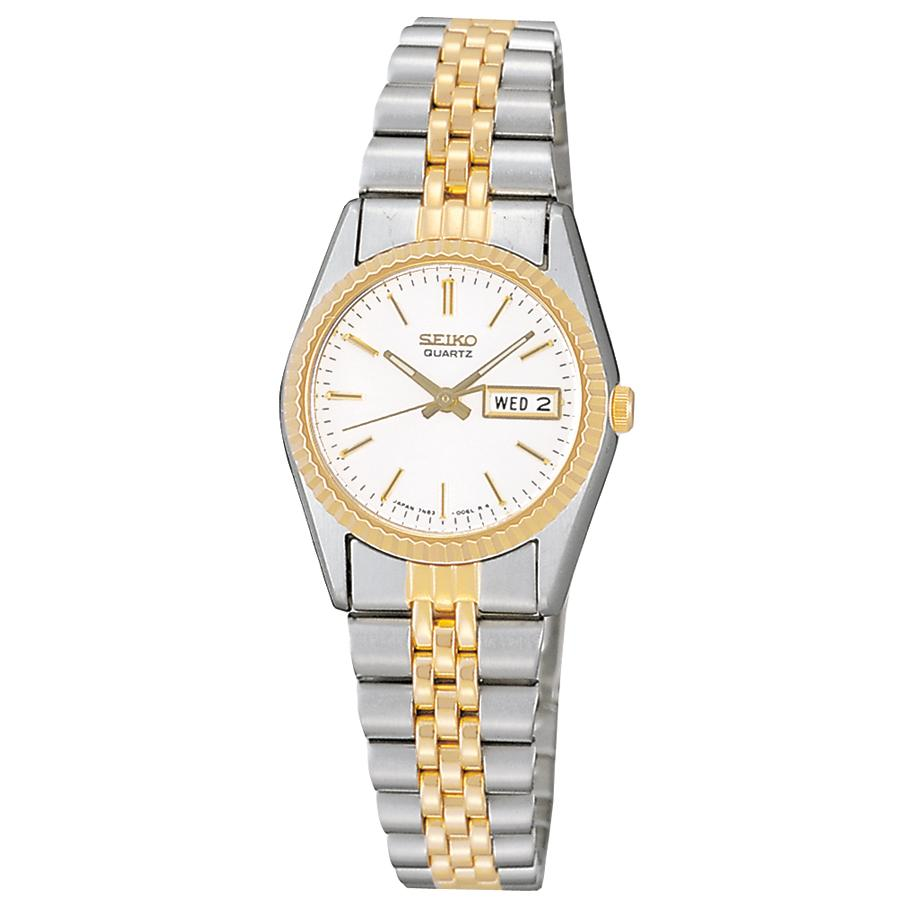 Seiko Womens Two-Tone Dress Watch