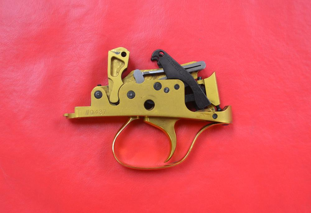 PRECISION DOUBLE RELEASE GOLD TRIGGER GROUP