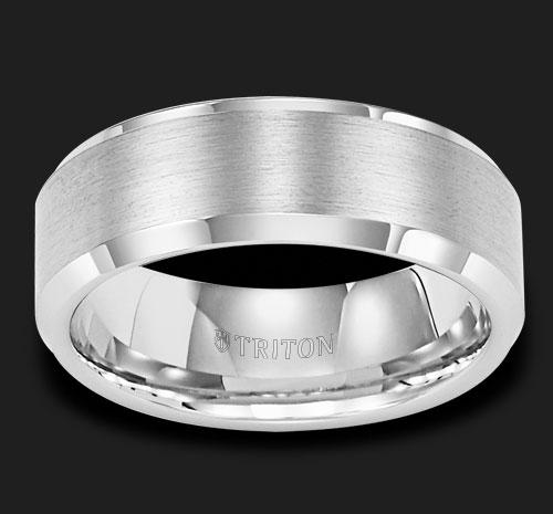 TUNGSTEN BEVEL EDGE GENTS BAND