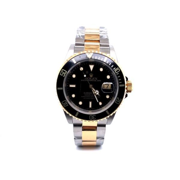 Steel And Yellow Gold Date Submariner