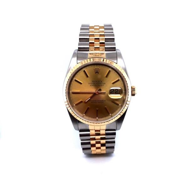 Steel & Yellow Gold 36mm Datejust