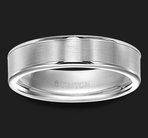 TUNGSTEN FLAT WEDDING BAND