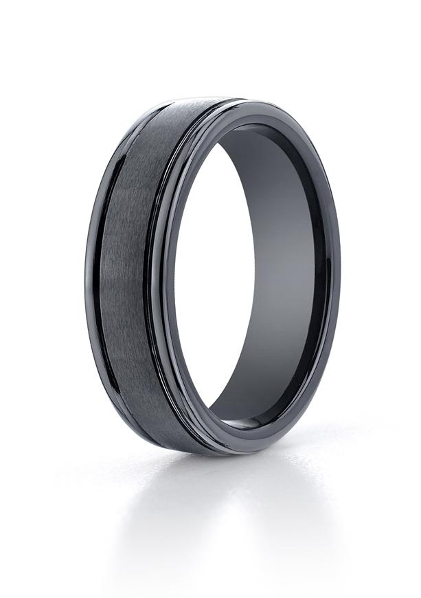 Seranite 6mm Wedding Ring by Benchmark.