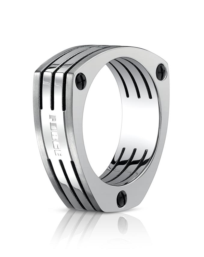 Titanium 7.5mm Wedding Ring by Benchmark.