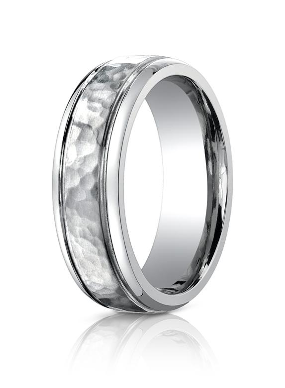 Titanium 7mm Wedding Ring by Benchmark.