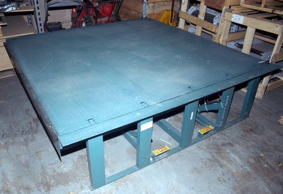 McGUIRE Autodok Hydraulic Dock Leveler