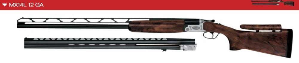 MX14 L Trap Unsingle 12 ga Combo - Available for custom order