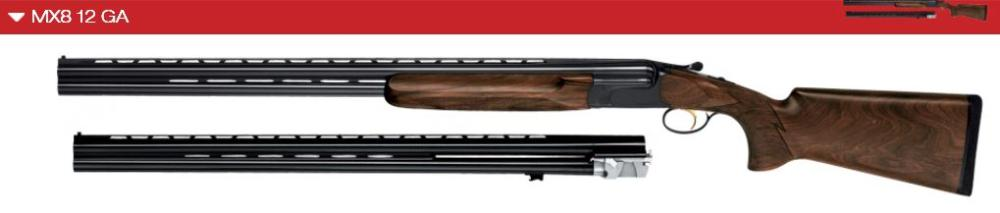 MX8 Skeet O/U 12 ga Combo - Available for custom order