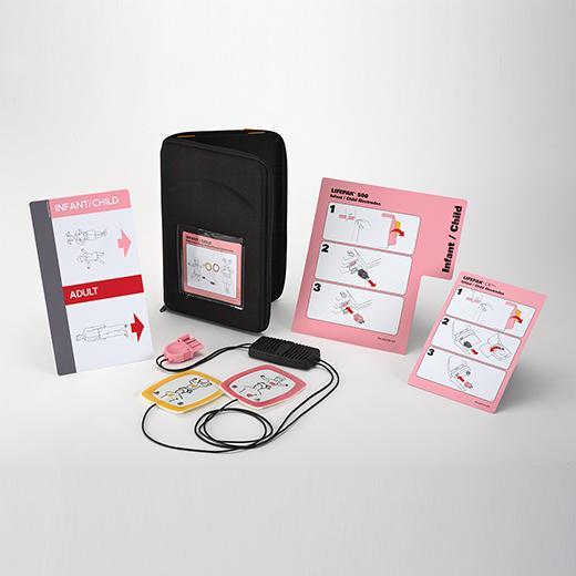 LIFEPAK® Reduced Energy Defibrillation Electrode Starter Kit Replacement Infant/Child