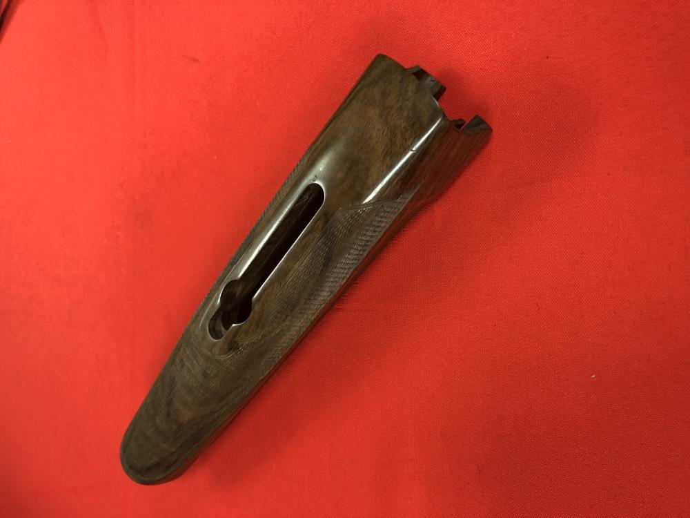 PERAZZI HIGH TECH BEAVERTAIL FOREND TYPE 4 12 GAUGE FRAME 28 GAUGE CHANNEL WOOD ONLY