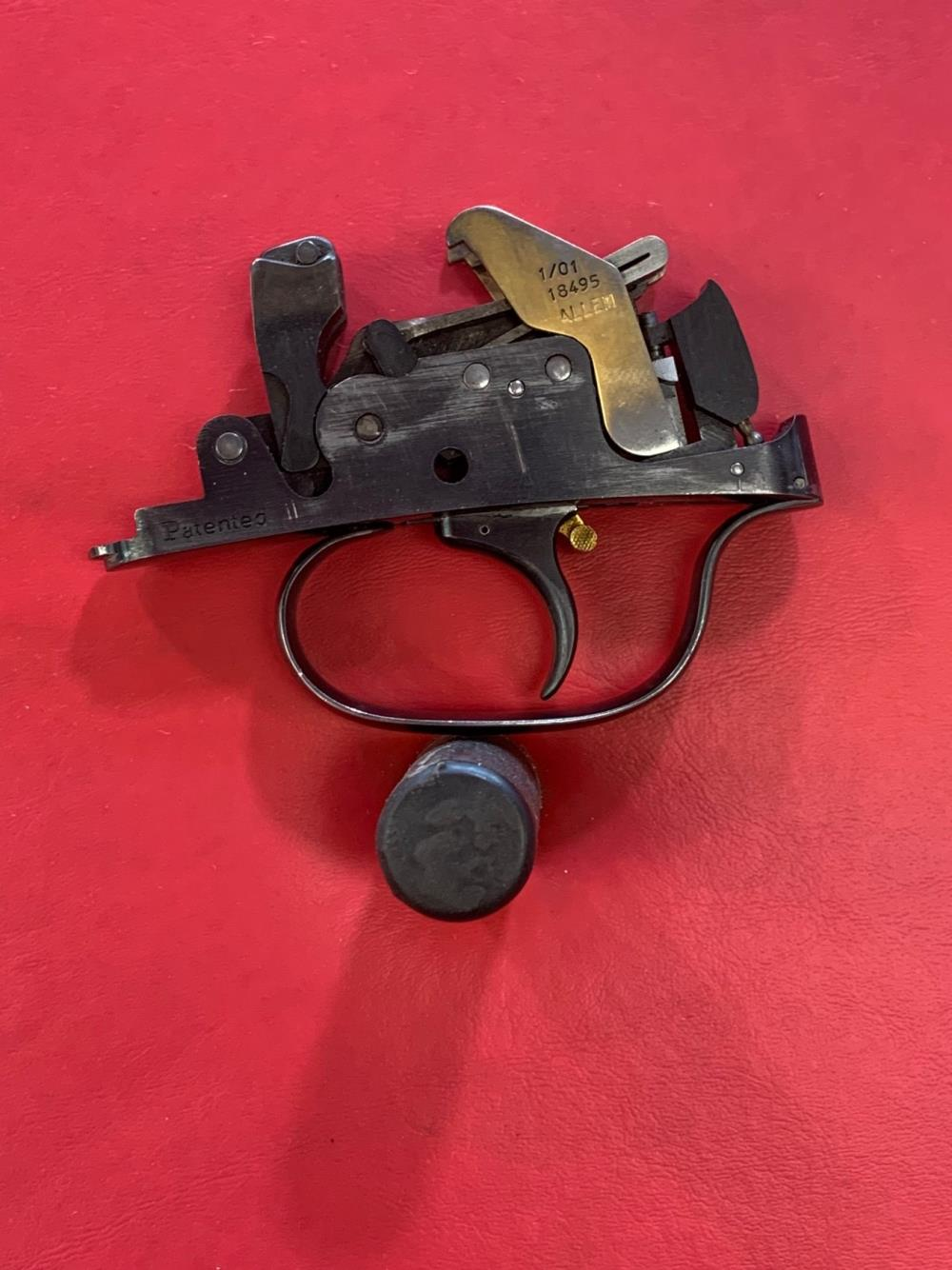 PERAZZI ADJUSTABLE TRIGGER GROUP WITH ALLEMS DOUBLE RELEASES - Pre-Owned